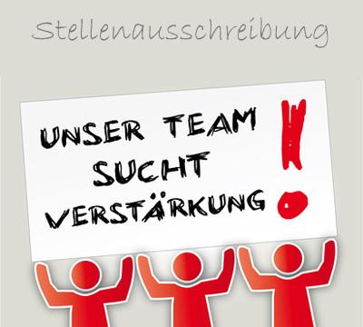 Grafik: Team sucht Verstärkung (c) Trueffelpix - fotolia.com