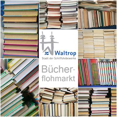 Waltroper Bücherflohmarkt (c) alex742109 - fotolia.com