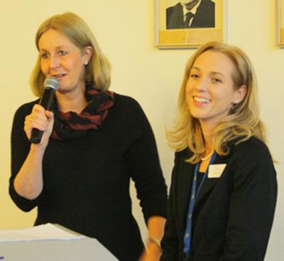 Auf dem Bild: Nicole Moenikes und Sandra Hilse (Foto: Tamina Forytta, Medienhaus Bauer))