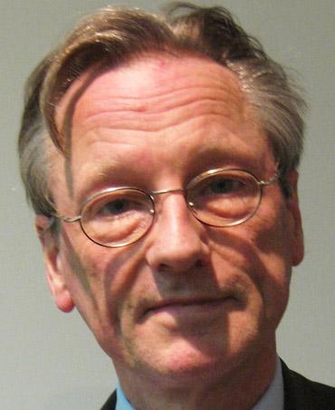 Auf dem Bild: Dr. Peter Brandt