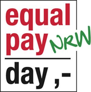 Equal Pay Day Logo für NRW