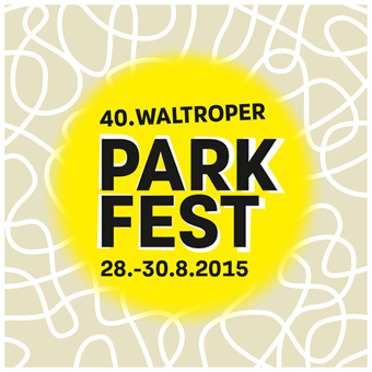 "Aktionslogo ""40 Jahre Parkfest"""