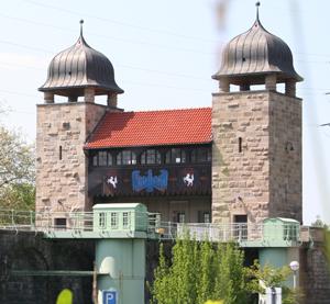 Auf dem Bild: LWL-Industriemuseum Altes Schiffshebewerk Henrichenburg