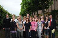 Gruppenfoto der Auszubildenden 2010