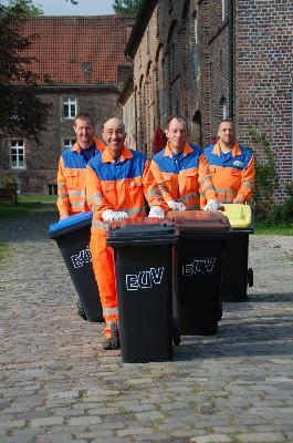 Mitarbeiter des EUV-Stadtbetriebes