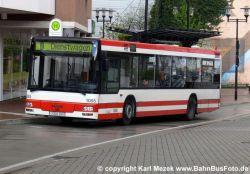 Bus am Castrop-Rauxeler Busbahnhof