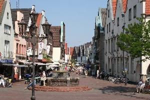 Innstadt mit Blick vom Marktplatz