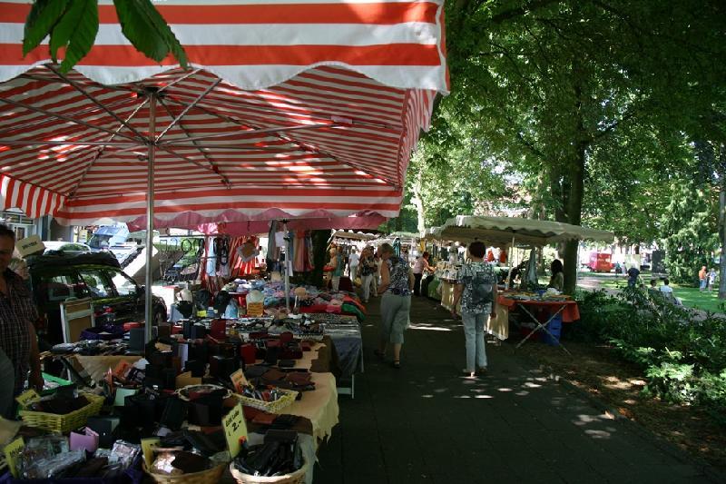 Bild vom Krammarkt - Foto Stadtagentur