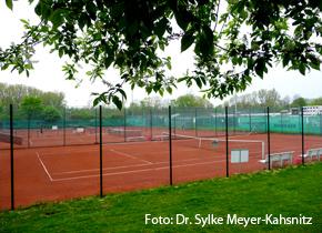 Foto von Dr. Meyer-Kahsnitz: Tennisplatz