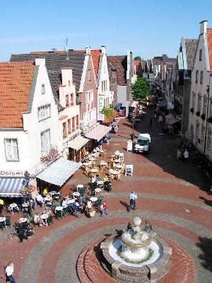 Blick in die Rekumer Straße