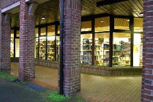 Eingang Stadtbücherei