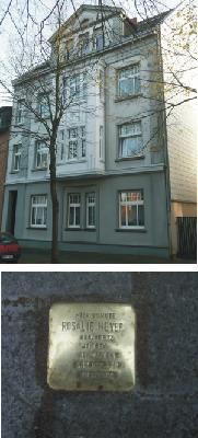 Bild zum Projekt Stolpersteine - Recklinghäuser Straße 33