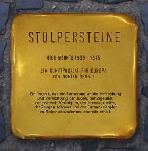 Bild des Projekts Stolpersteine