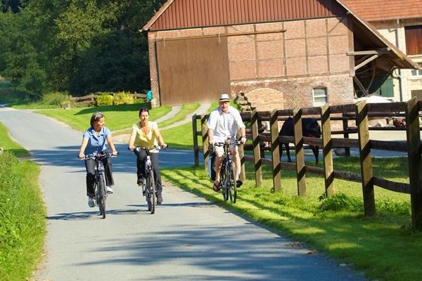 Radfahrer im Münsterland - foto Münsterland e.V.