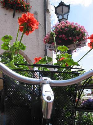 Fahrrad am Rathaus