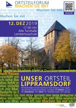 Plakat Einladung Ortsteilforum
