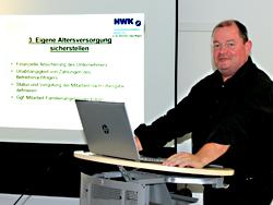 Das Bild zeigt Wido Kintzel von der Handwerkskammer Münster