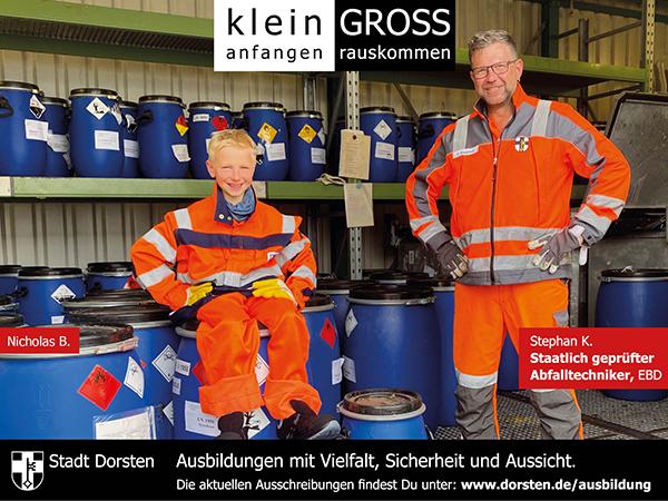 Ausbildung bei der Stadt Dorsten