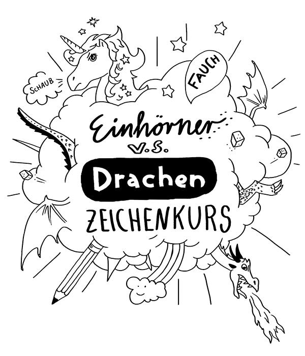 Einhörner und Drachen