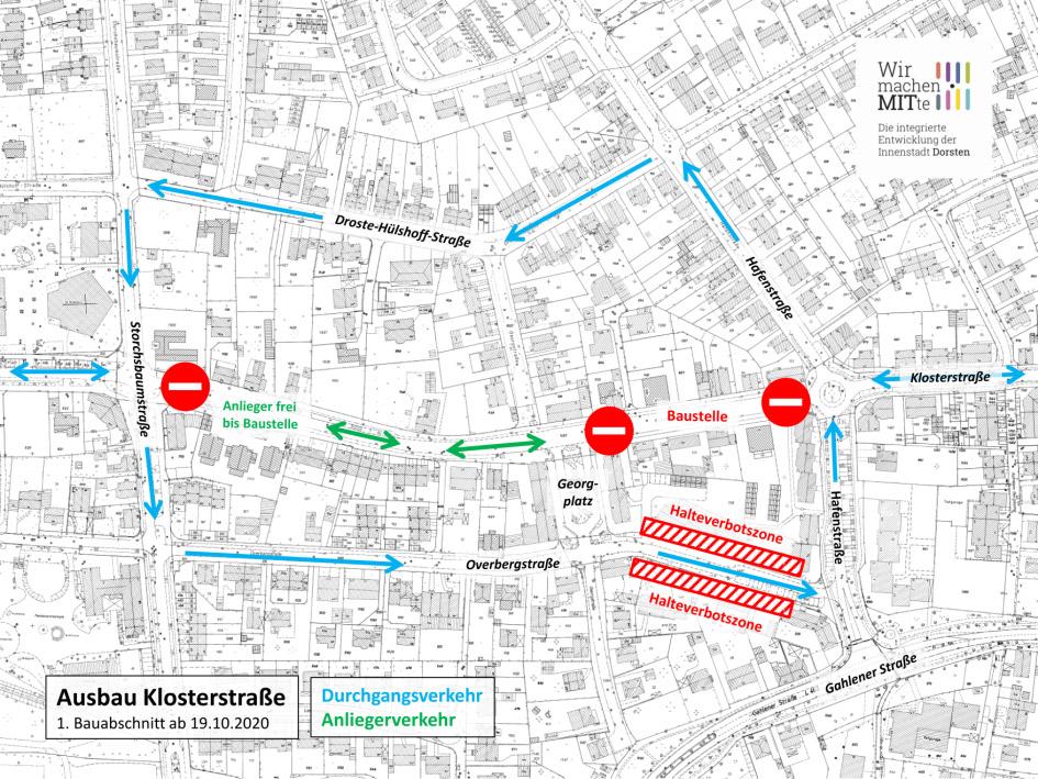 Ausbau Klosterstraße