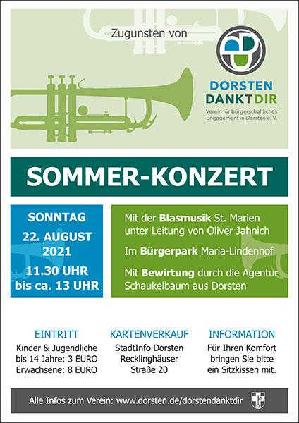 Sommerkonzert Plakat