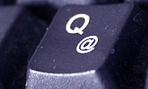 Das Bild zeigt eine Computer-Tastatur