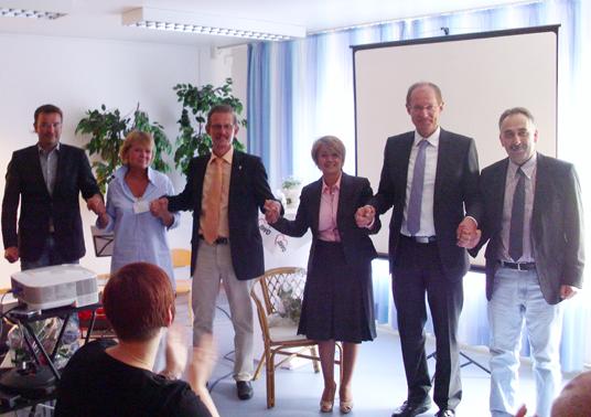 Das Bild zeigt die Teilnehmer des Gladbecker Projektes