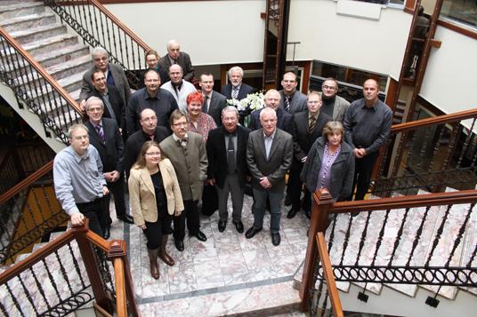 Das Bild zeigt die Mitglieder des Ausschuss für Wirtschafts- und Strukturpolitik des Kreis Recklinghausen