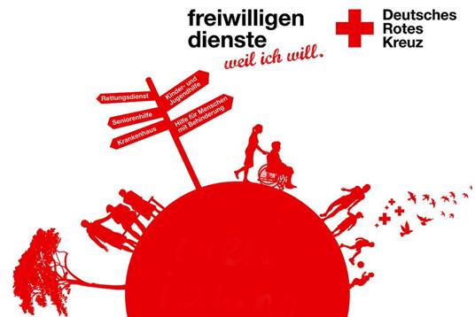 Das Bild zeigt das DRK-Logo