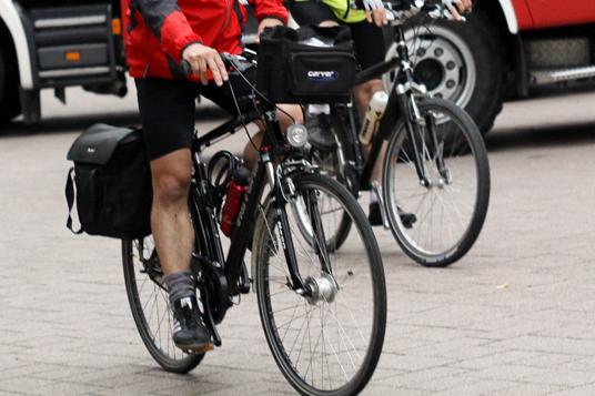 Das Bild zeigt ein Fahrrad in Gladbeck