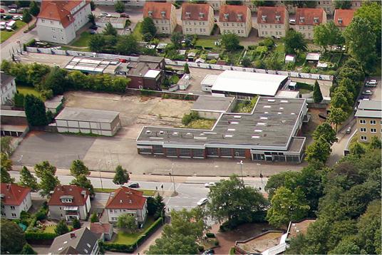 Das Bild zeigt das ehemalige Lueg-Gelände