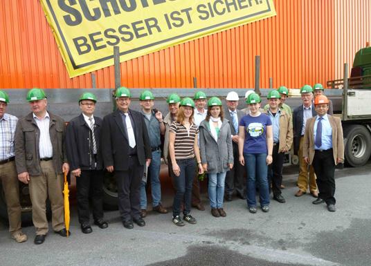Das Bild zeigt die Mitglieder des Umweltstammtisches
