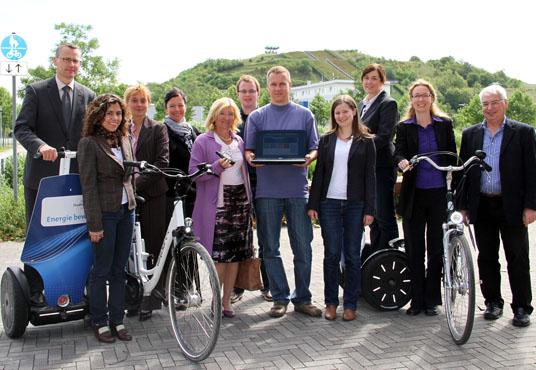 Das Bild zeigt die Organisatoren von Regiofreizeit
