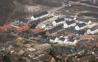Das Bild zeigt ein Baugebiet in Gladbeck
