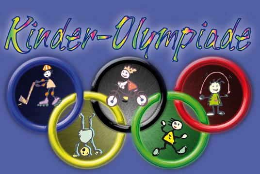 Das Bild zeigt das Logo der Kinderolympiade