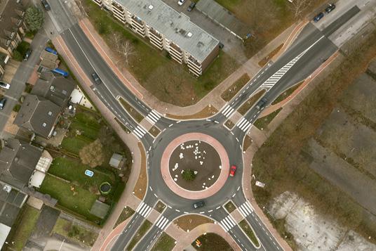 Das Bild zeigt die Kampstraße
