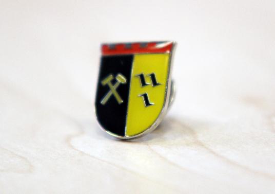 Das Bild zeigt einen Ansteck-Pin von Gladbeck
