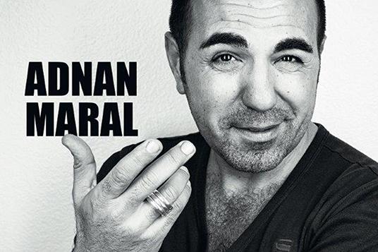 Das Bild zeigt Adnan Maral (Autorenfoto © Frank P. Wartenberg/ GLAMPOOL ) und Cover