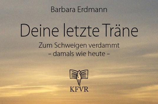 Das Bild zeigt das Buchcover von Barbara Erdmann