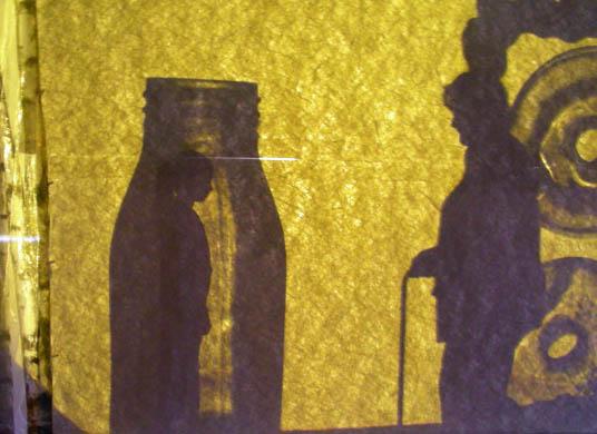 Das Bild zeigt eine Szene aus dem Theaterstück