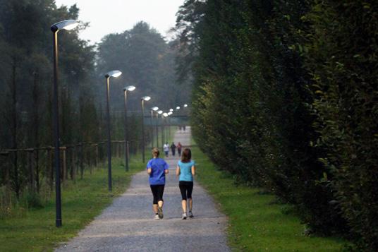 Das Bild zeigt die Marathonbahn