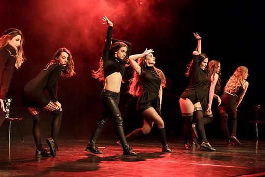 Das Bild zeigt The Senoritas beim Up To Dance Festival. Foto: Ulrike Pollmann.
