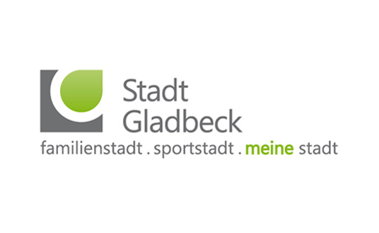 Das Bild zeigt das neue Corporate Design der Stadt Gladbeck