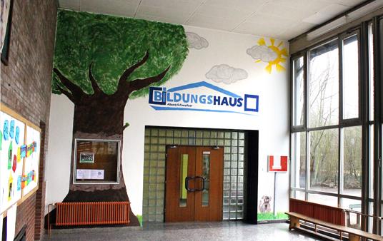 Das Bild zeigt das Logo des Bildungshauses