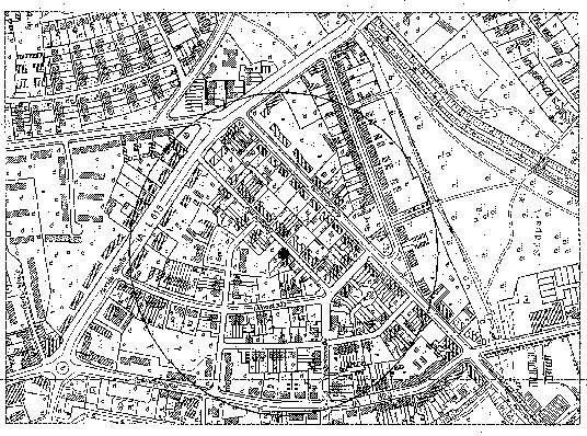 Das Bild zeigt die Karte