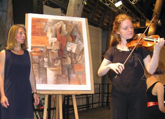 Das Bild zeigt eine Szene der Konzertreihe