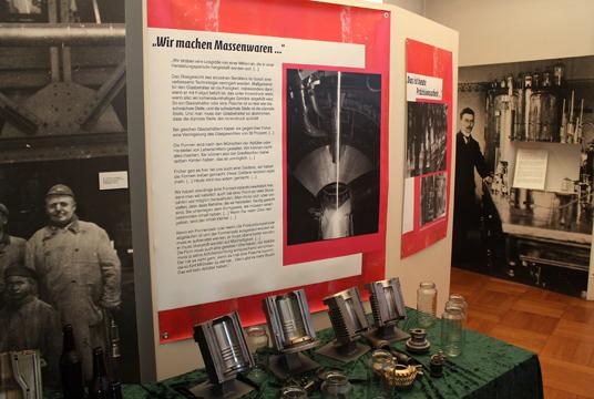 Das Bild zeigt die Ausstellung im Museum