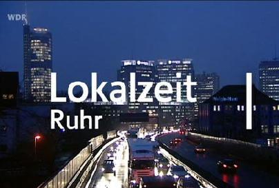 Das Bild zeigt die Lokalzeit Ruhr