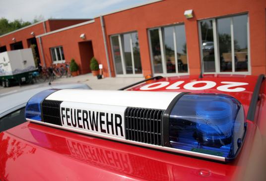 Das Bild zeigt die Gladbecker Feuerwehr