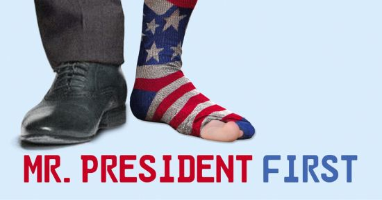 """Mr. President First"""